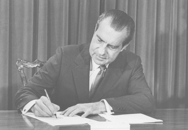 9301972 Salt I Takes Effect Richard Nixon Foundation