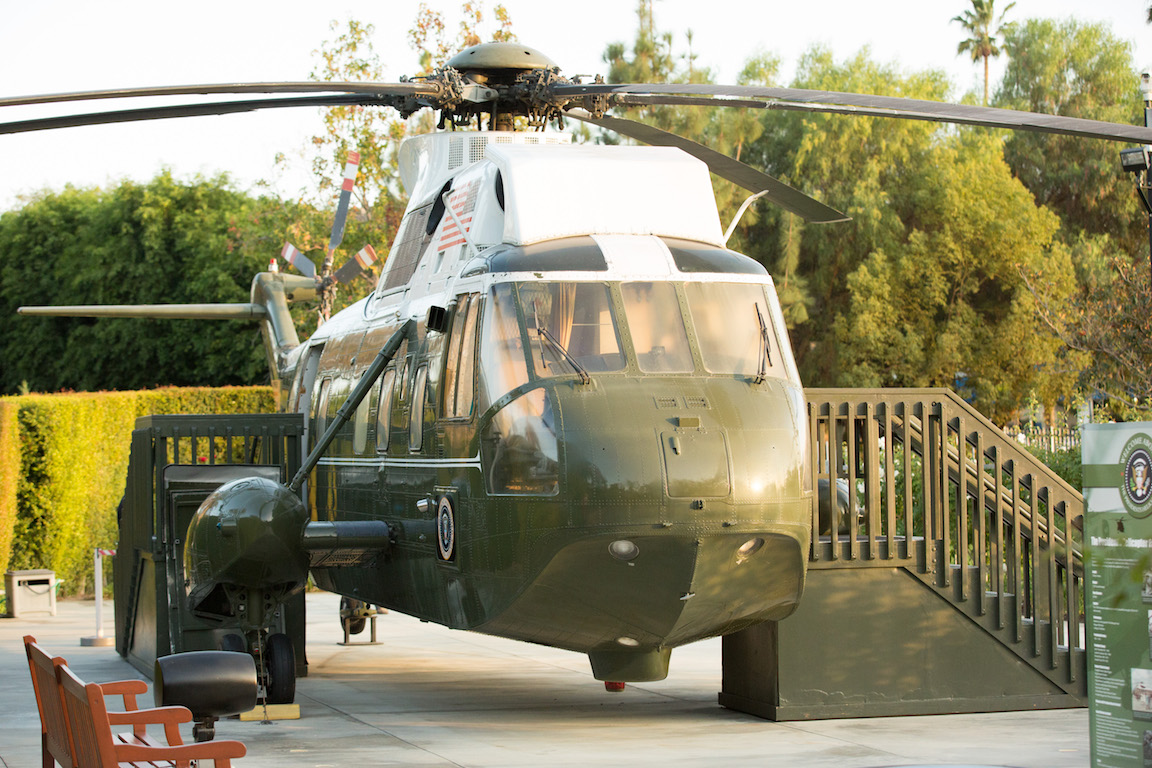 Nixon Library Helicopter