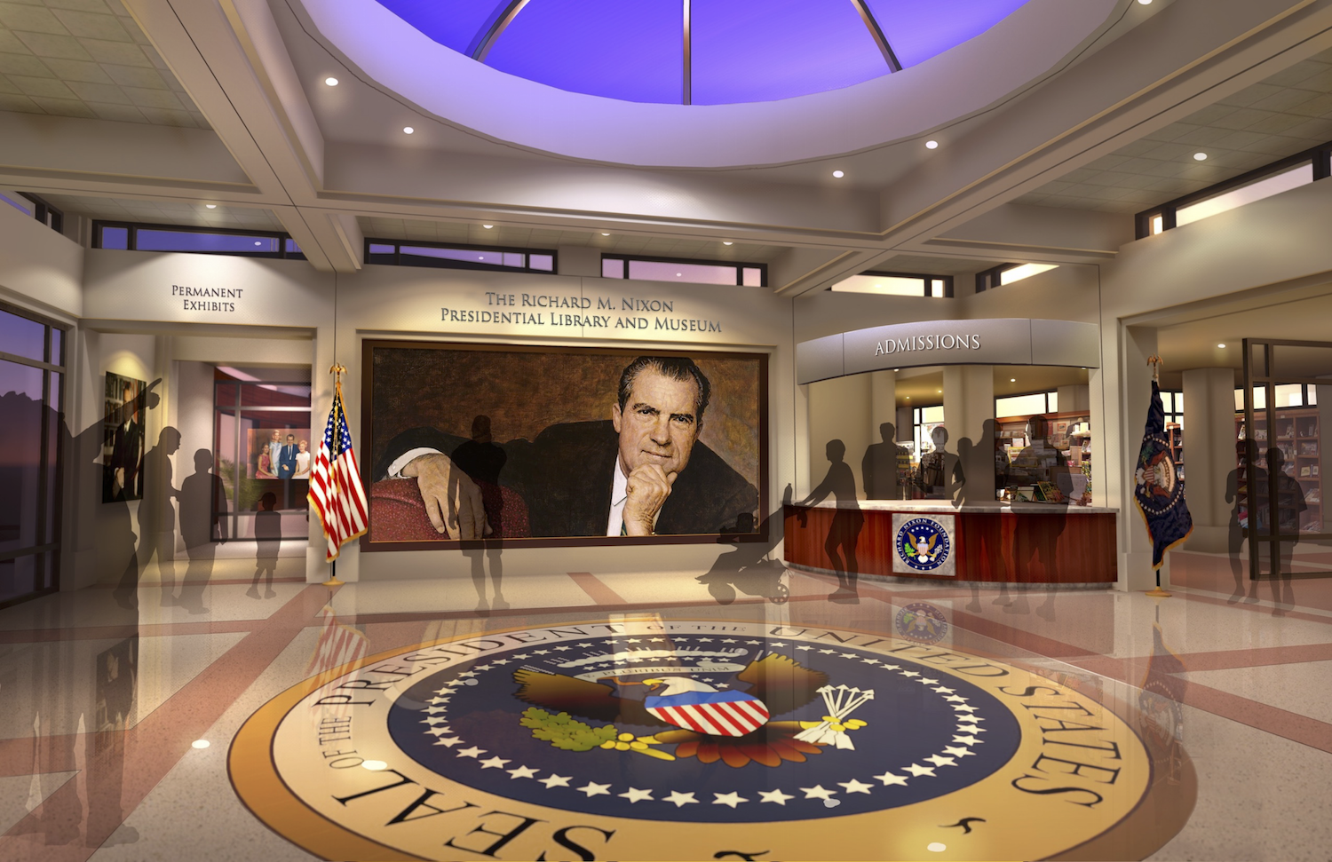 Nixon Library Opening