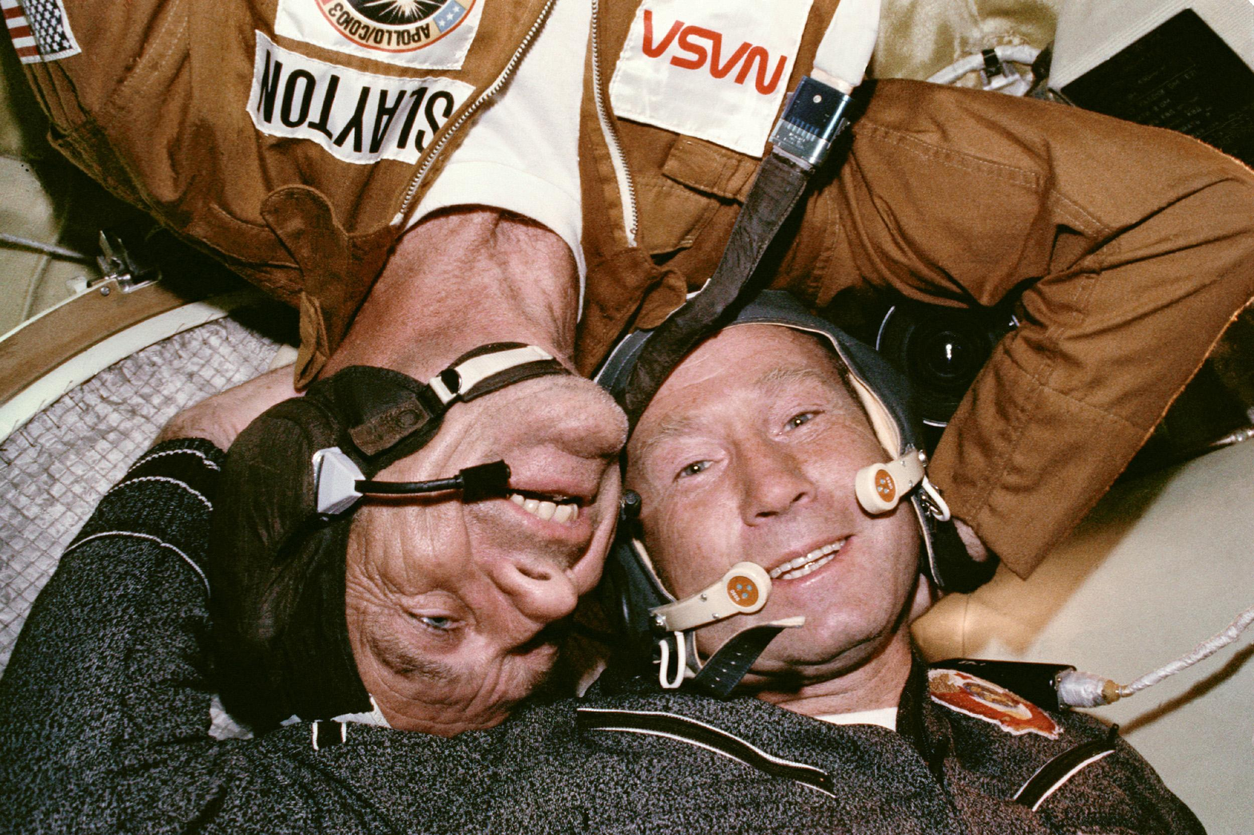 Apollo and Soyuz Pilots