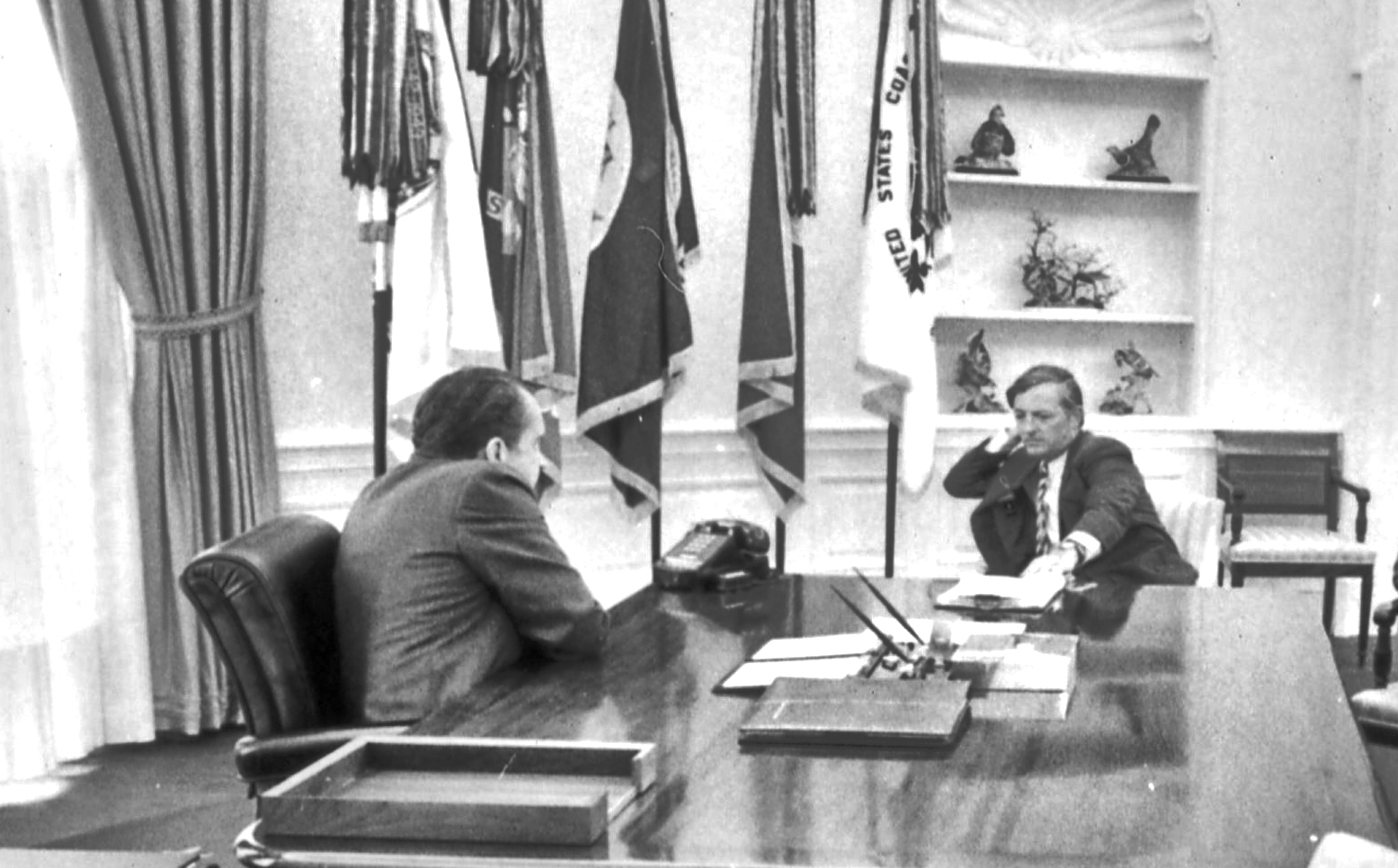 President Nixon and William Buckley