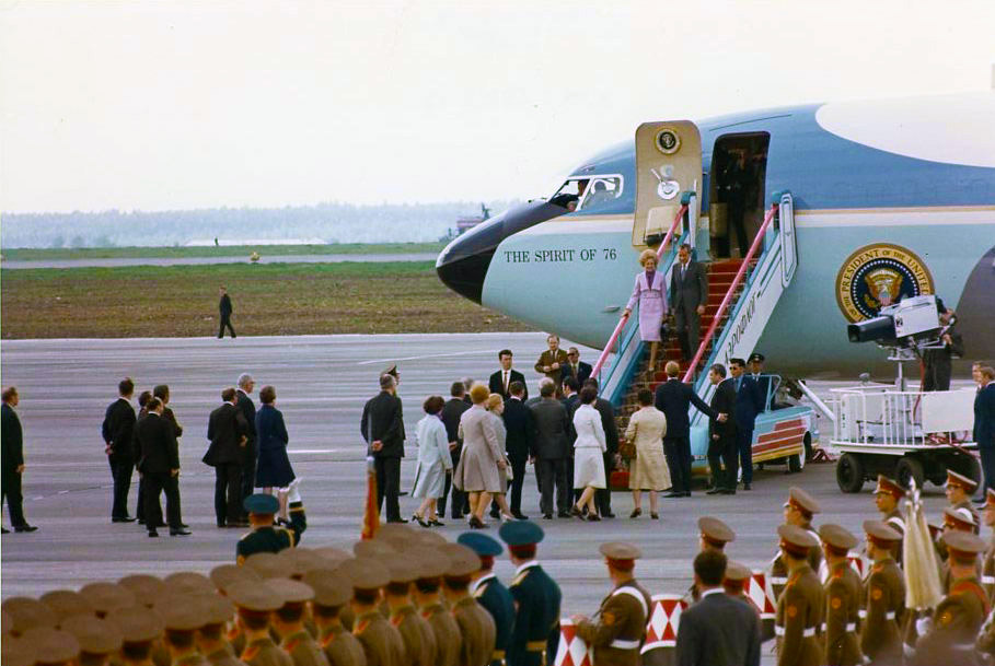 Arrival in Moscow 1972