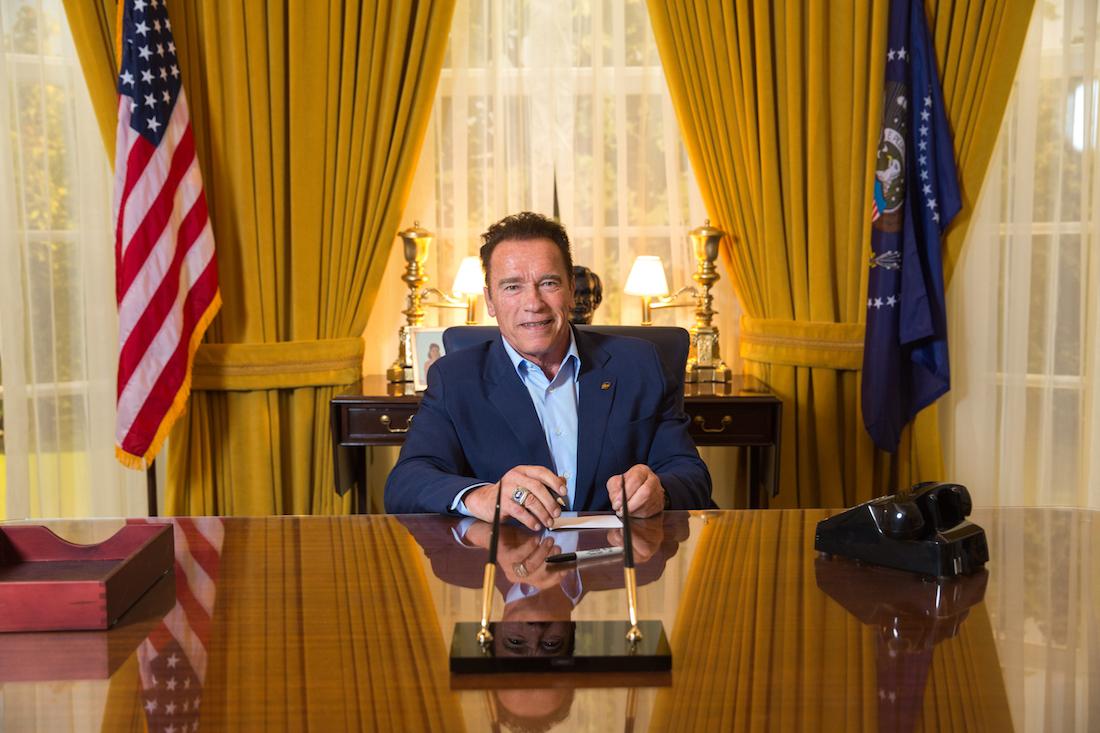 nixon oval office. Arnold Schwarzenegger Nixon Library Oval Office A