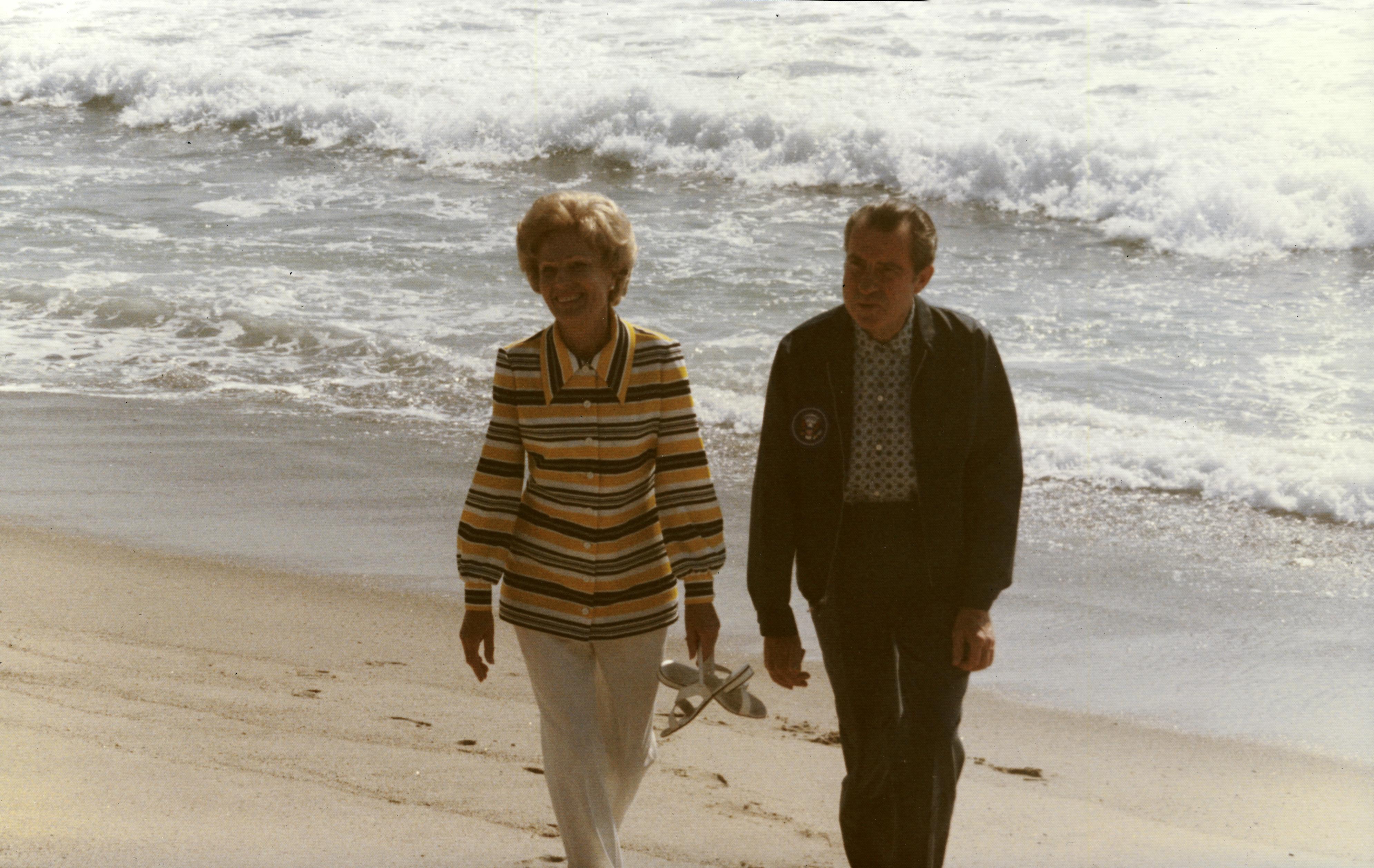 Relaxing at Casa Pacifica » Richard Nixon Foundation
