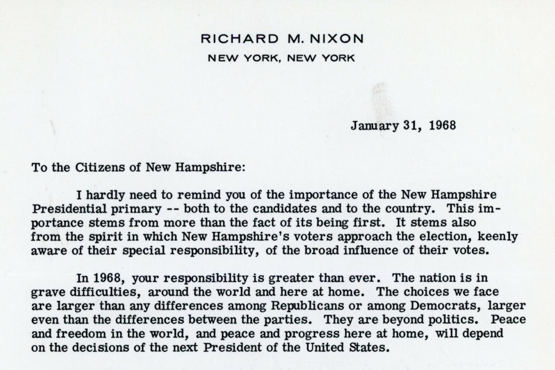 NH letter