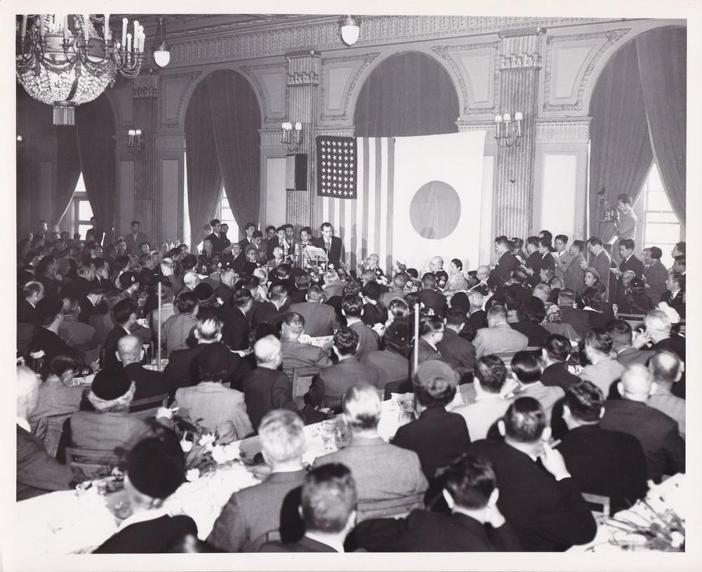 VP Nixon in Japan
