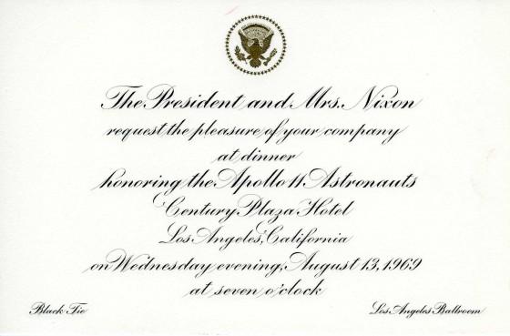 A Grand Salute to the Apollo 11 Astronauts » Richard Nixon Foundation