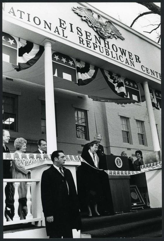 Eisenhower Center Dedication