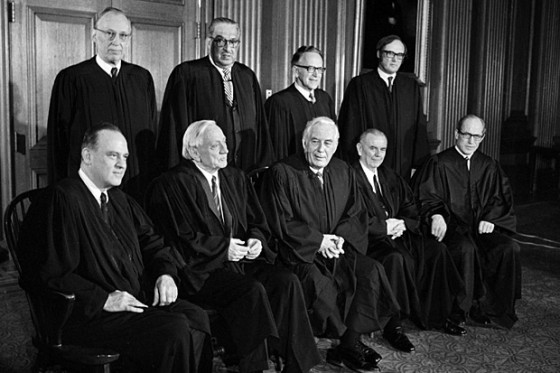 richard nixon and supreme court Supreme court nominee brett kavanaugh suggested several years ago that the unanimous high court ruling in 1974 that forced president richard nixon to turn over the watergate tapes may have been wrongly decided.